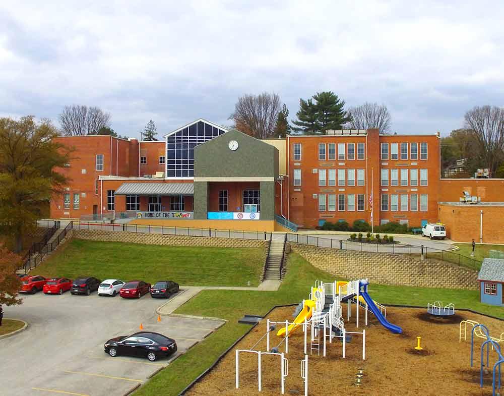 International Baccalaureate World School campus in Maryland.